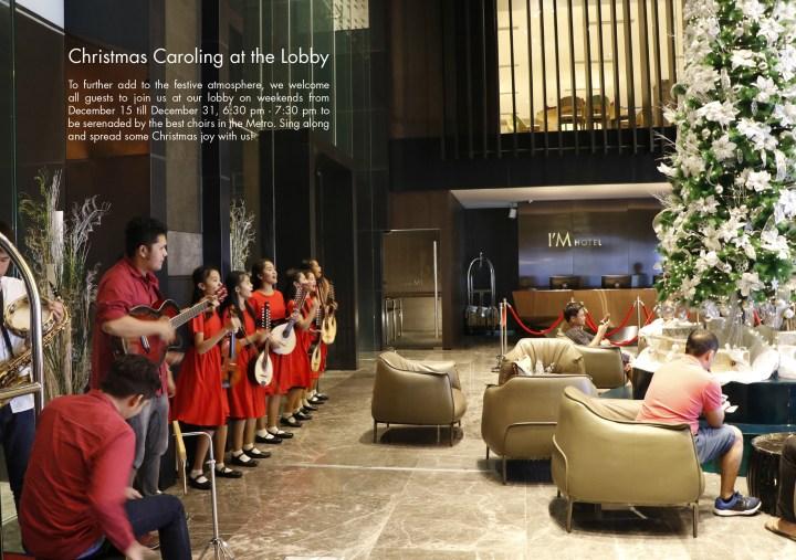 Christmas Caroling at the Lobby