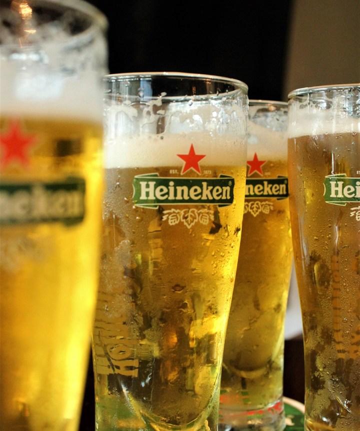 RHI No to VD - 143 on Heineken Draft Beer