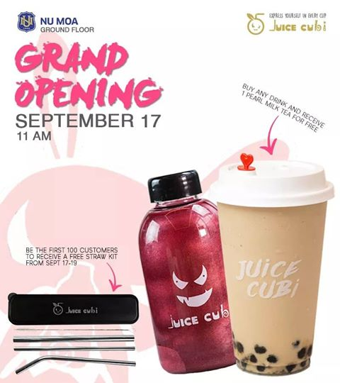 brand launch and branch opening day poster