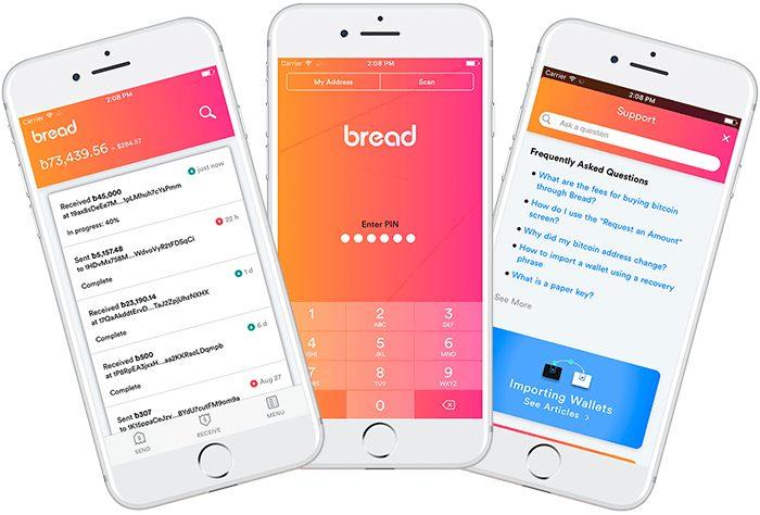 Биткоин кошелёк Bread будет поддерживать эфириум и ICO токены