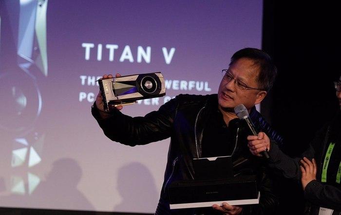 Nvidia Titan V — самая мощная и дорогая видеокарта для ПК