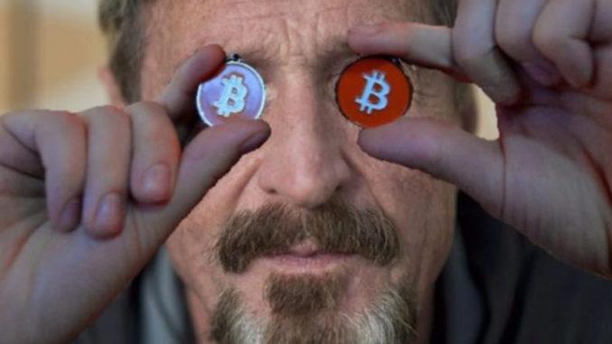 Джон Макафи предлагает криптовалютам переход с HitBTC на Coinbase