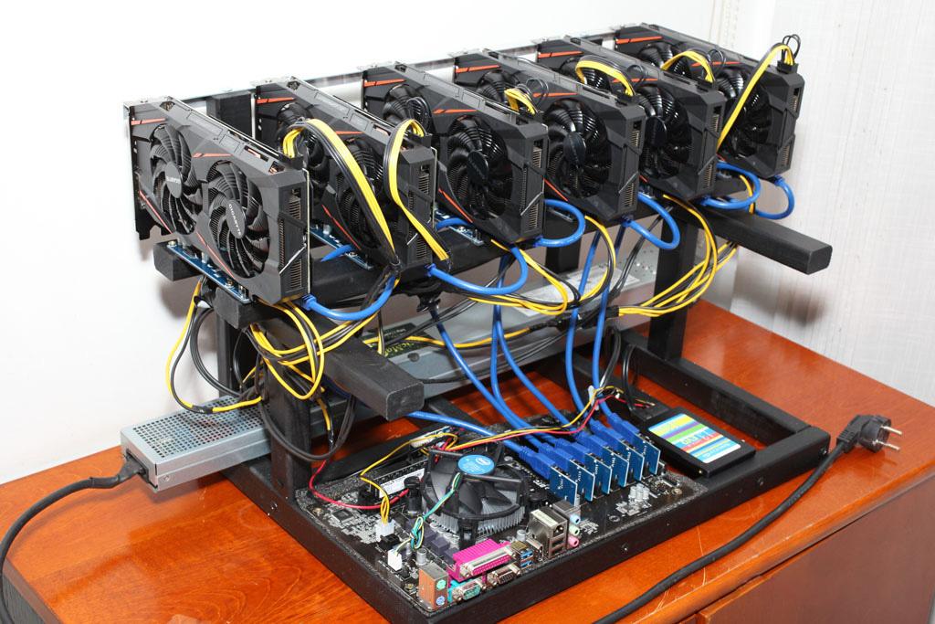 Сборка майнинг-фермы на базе GeForce GTX 1070 для добычи Zcash