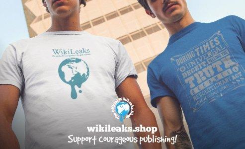 Coinbase заблокировала аккаунт WikiLeaks Shop