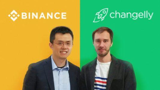 Changelly объявляет о партнерстве с Binance