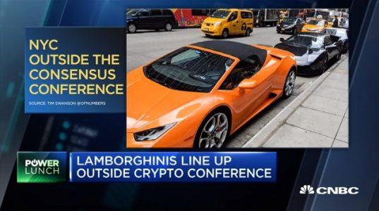 Припаркованные перед входом на Consensus 2018 «Ламборгини» оказались подставными