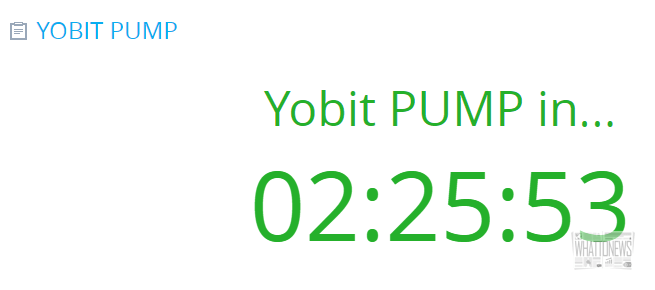 YoBit планирует памп на 10 BTC