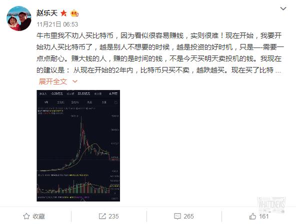 Китайский биткоин-миллионер: через 3 года BTC пробьет .000