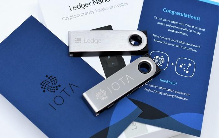IOTA объявила о совместимости с аппаратными кошельками Ledger