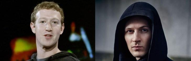 Павел Дуров раскритиковал «империю» Марка Цукерберга