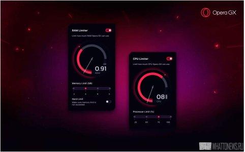 Opera запускает браузер для геймеров