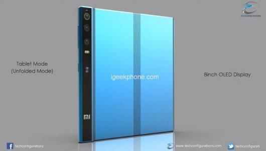 Концепт смартфона Xiaomi Mi Fold