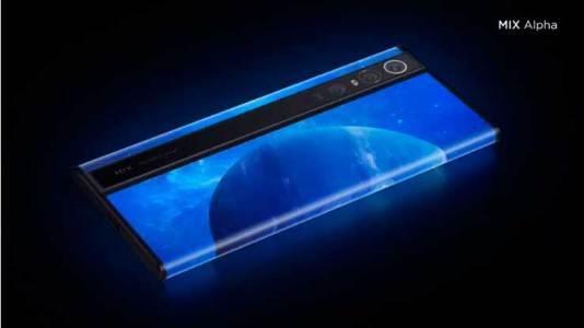 Представлен смартфон Xiaomi Mi Mix Alpha
