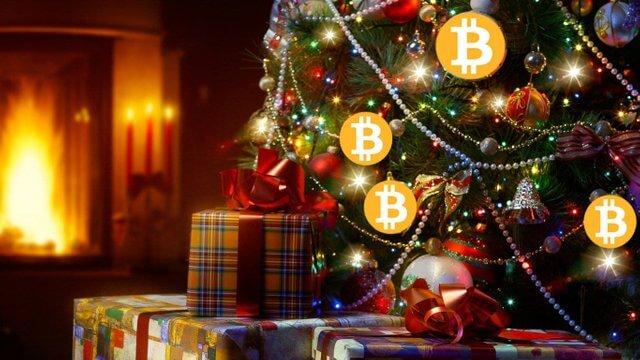 На Рождество цена Bitcoin может вырасти