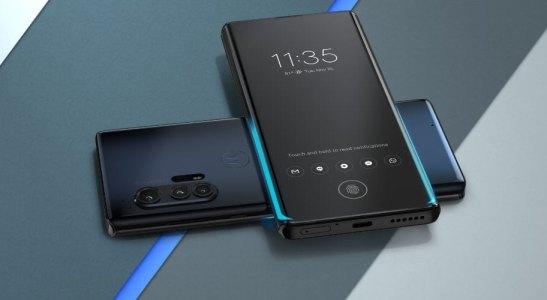 Появился анонс нового смартфона Motorola Edge