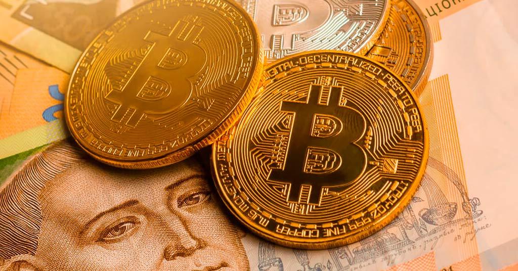 Украина занимает первое место в мире по использованию криптовалют