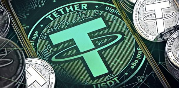 Объем транзакций со стейблкоином Tether достиг $600 млрд