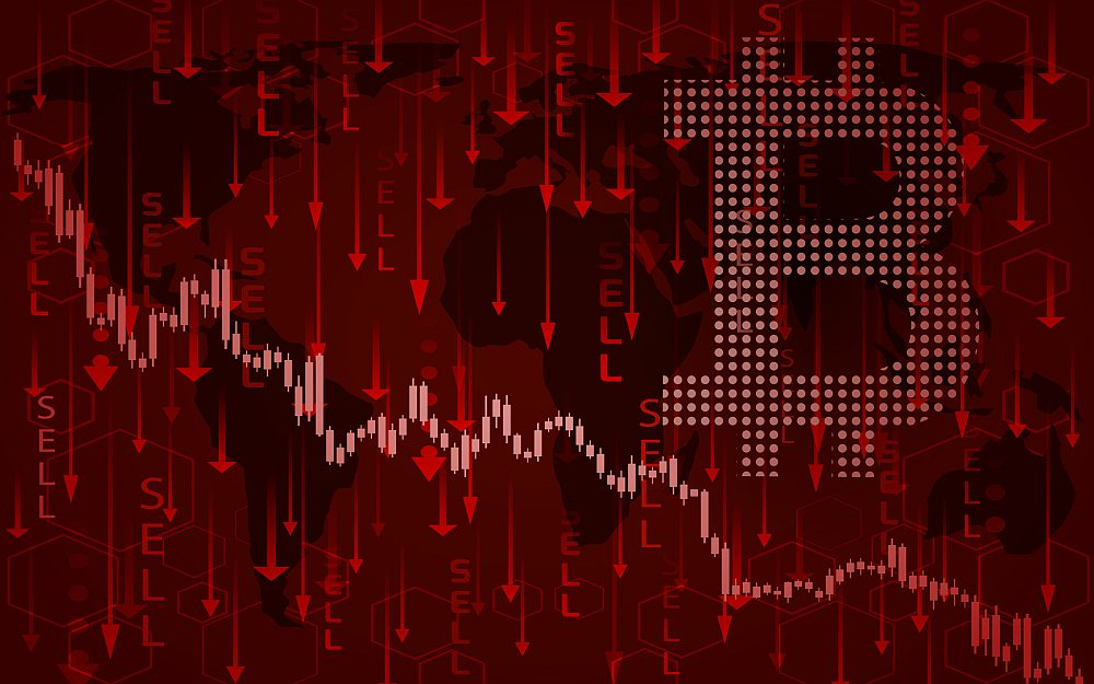 Биткоин испытал крупнейшее снижение за 10 дней и снова оказался около $32 000