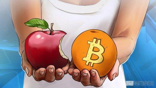 Apple планирует интегрировать криптовалютные платежи?