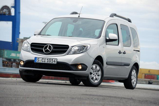 Whattruck a testat in premiera noul Mercedes Citan Combi 108 CDi 75  2013