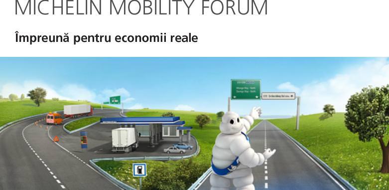 Michelin desfasoara primul forum de mobilitate-Michelin Mobility Forum 2013