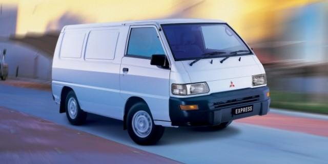 Mitsubishi renunta la utilitara Express Van dupa 30 de ani de productie