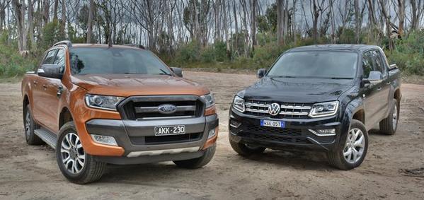 Urmatoarea generatie VW Amarok urmeaza sa fie identica cu Ford Ranger