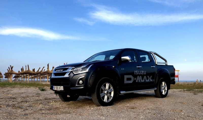 Test Drive cu noul Isuzu D-Max RT85 1.9 DSL Double Cab Premium cutie automata 2019