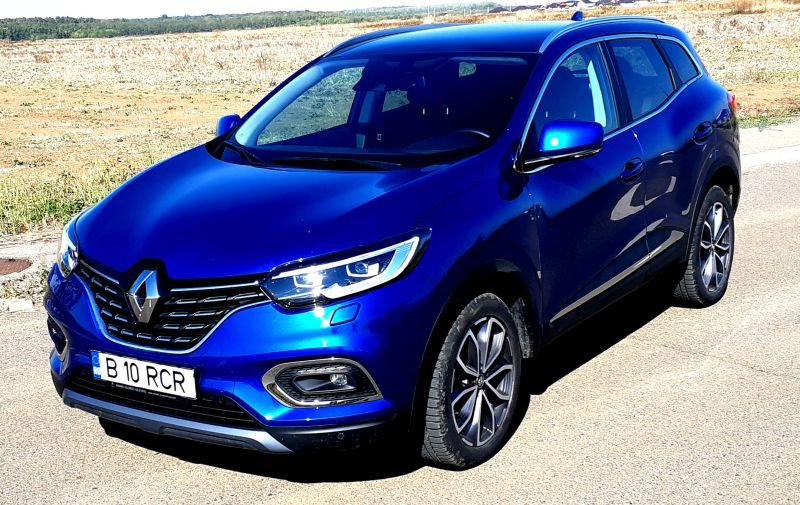 Primul Test Drive cu noul Renault Kadjar Intens echipat cu motorizarea 1.7 BluedCI 150 CP 4×4 2019
