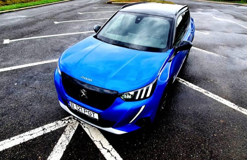 Test drive cu noul Peugeot 2008 1.5 BlueHDI 130 CP AT8 Aisin 2020