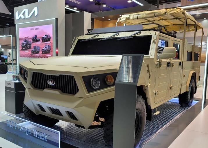 KIA KLTV este un concurent pentru Hummer