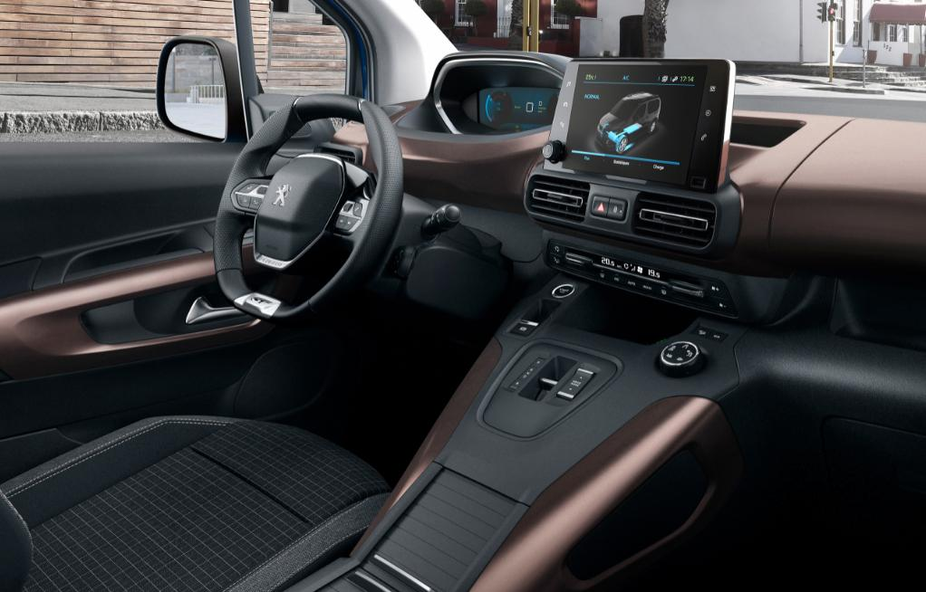 Noul Peugeot e-RIFTER este 100% electric si merge 280 km cu o singura alimentare
