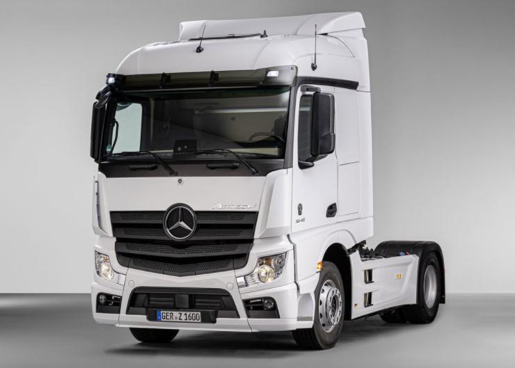 Noul Mercedes-Benz Actros F este realizat special pentru transportatorii din Europa de Est