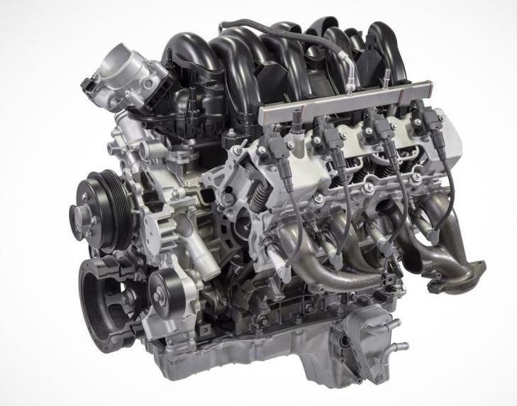 In timp ce in Europa Ford are o gama 1.0 EcoBoost de 100 CP in SUA noul Ford Super Duty este oferit cu un V8 de 7.3 litri Godzilla