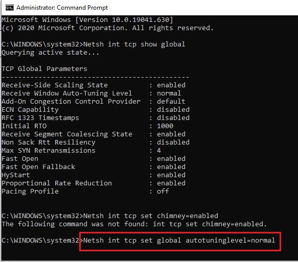 4 Amazing Ways to speed up internet connection using cmd in Windows 3
