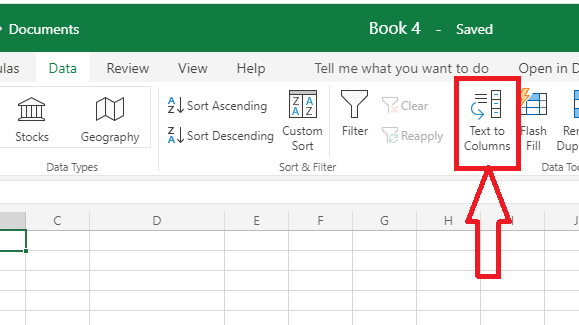 How to Split columns in excel into multiple columns 4