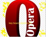 Opera keyboard short cuts