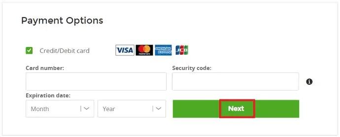 ZenMate Payment details
