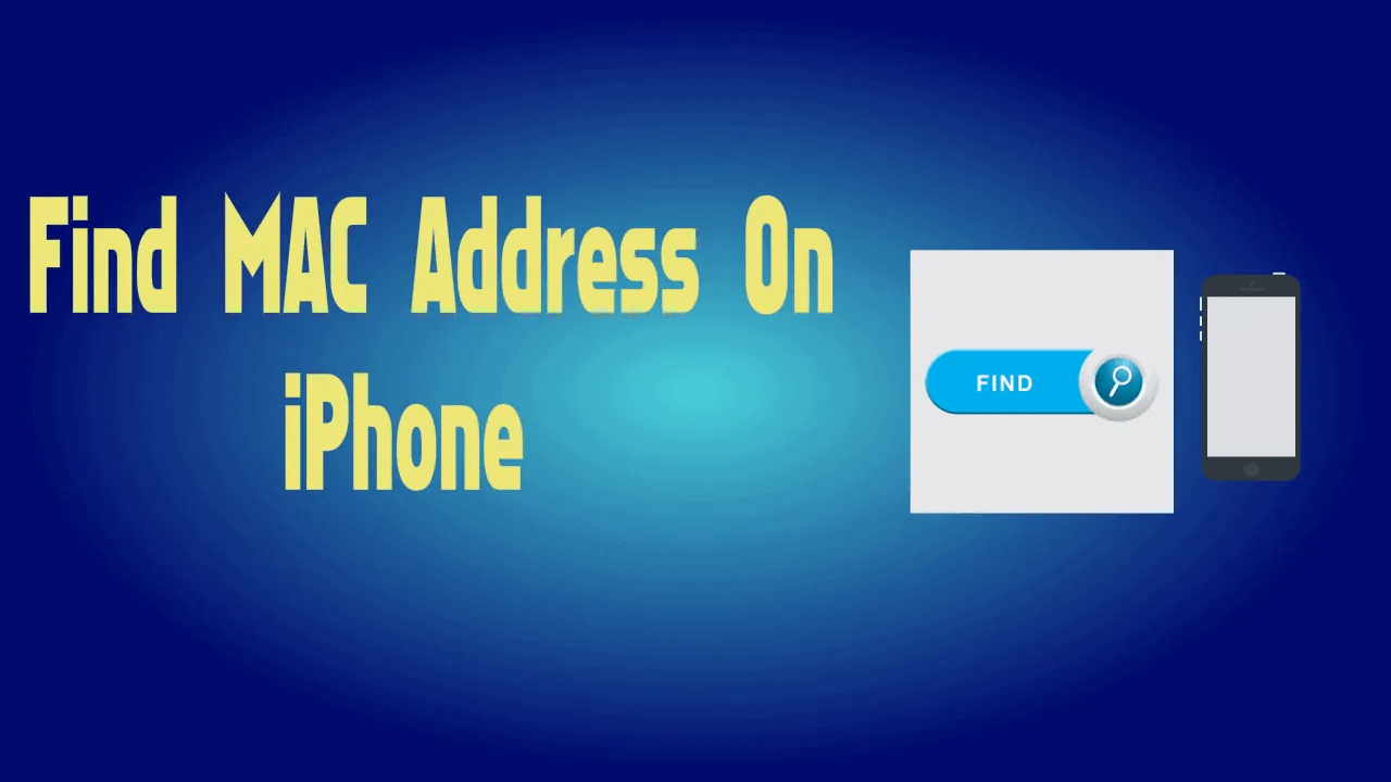 How to Find MAC address on iPhone/iPad/iOS? 4