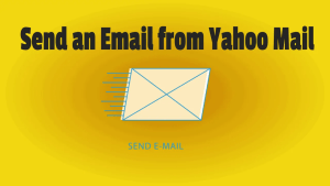Send an Email from Yahoo Mail