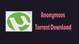 Anonymous Torrent Download
