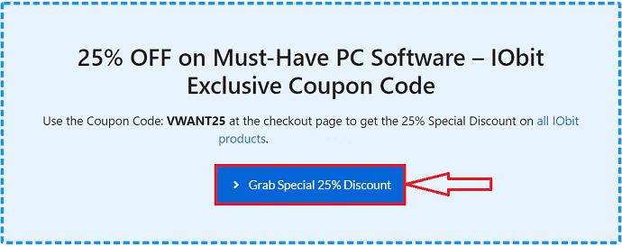 IObit coupon