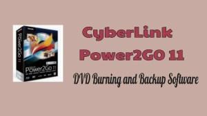Cyberlink Power2Go 11