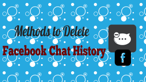 Delete Facebook Chat History
