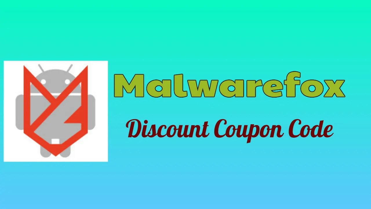Malwarefox Discount Coupon Code
