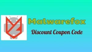 Malwarefox Discount Coupon Code