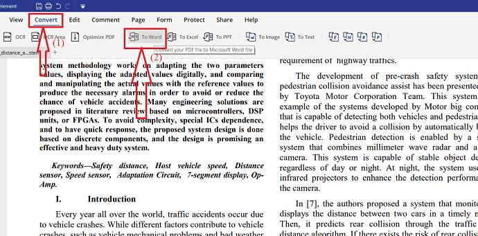 6 Ways to Convert PDF To Editable Word (Free Online & Offline) 8