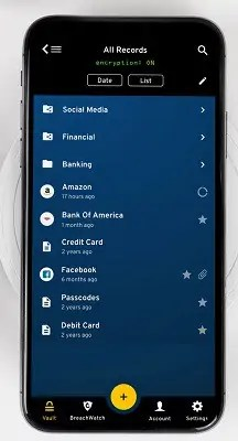 Keeper password manager for android