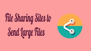 File Sharing Sites