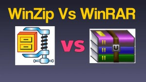 WinZip VS WinRAR